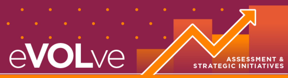 Header graphic that states 'Evolve, assessment and strategic initiatives'