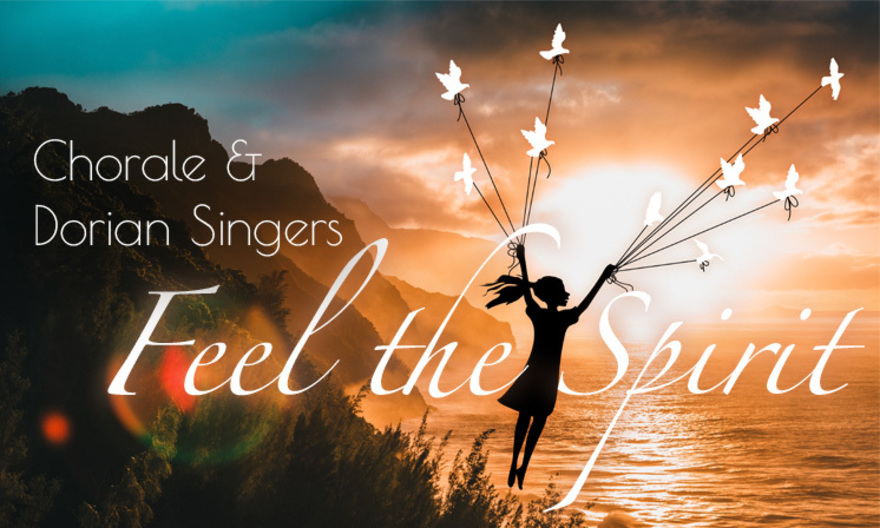 Poster image for the Chorale and Dorian Singers spring concert