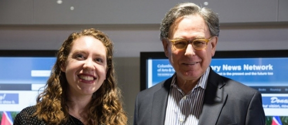 Kyla Sommers and Sidney Blumenthal