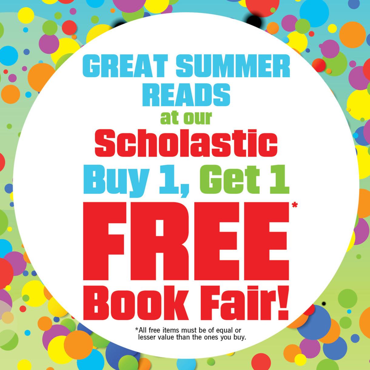 Book Fair BOGO