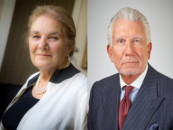 Marcela Villareal de Panetta and Bernard J. Panetta II
