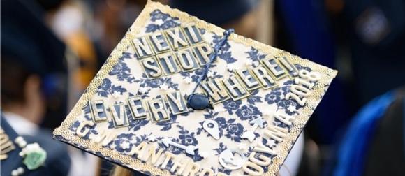 decorated graduation cap