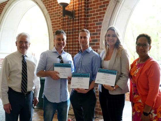Tulane Law School pro bono hours award winners