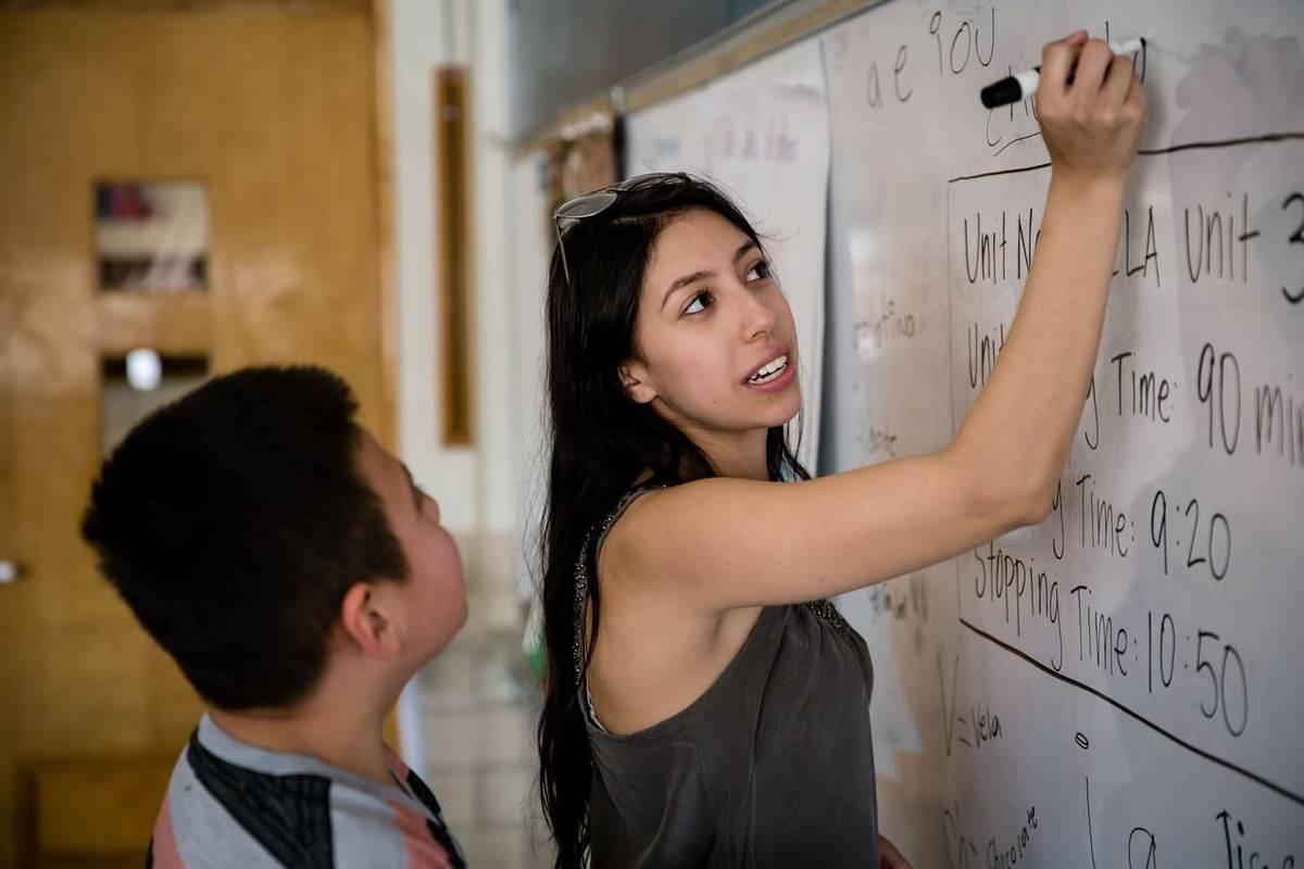 Luisa Rodriguez, Tutor at Hallett Academy
