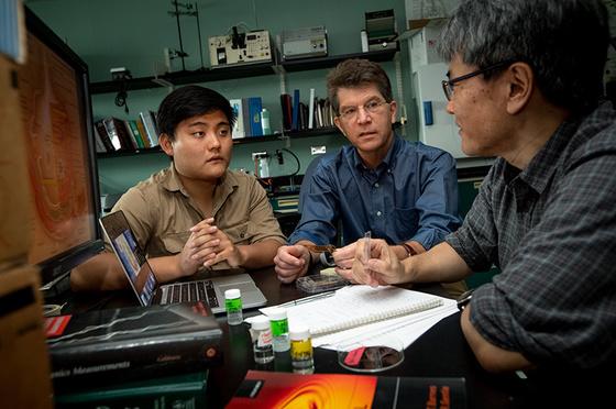 Don Gaver (center)
