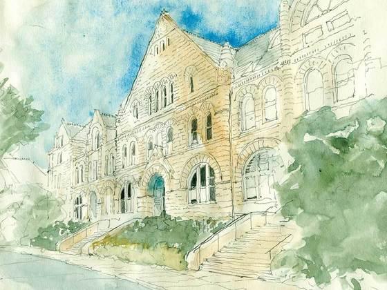 Gibson Hall by Errol Barron