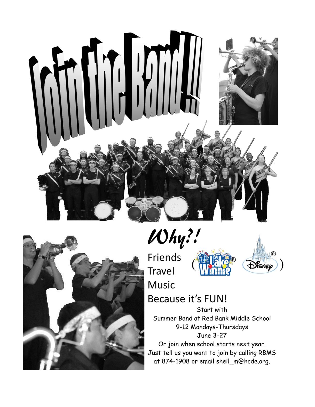 RBMS Band Flyer