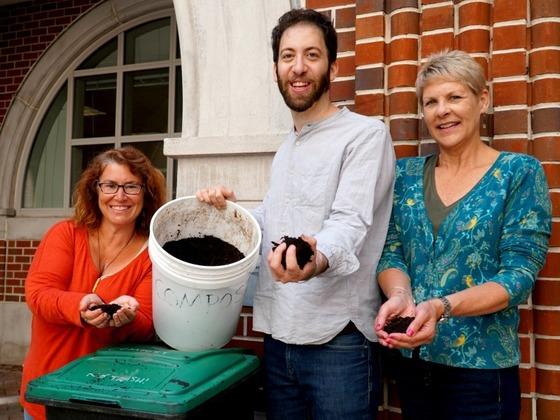 Tulane composting