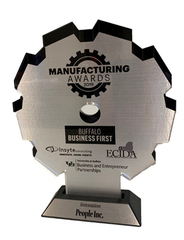 An image of the award given to People Inc.