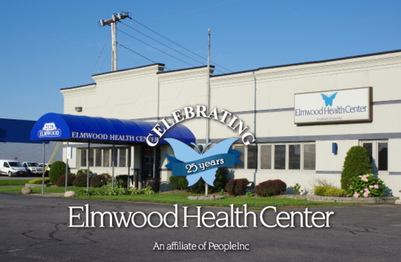 The Elmwood Health Center exterior photo.