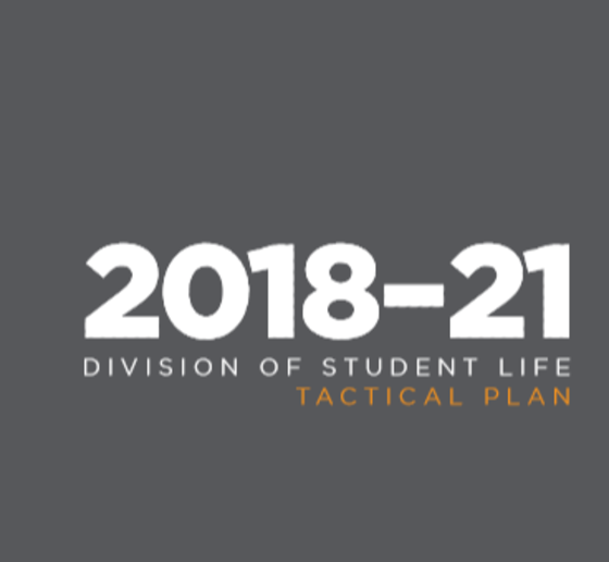 2018-2021 Division of Student Life Tactical Plan