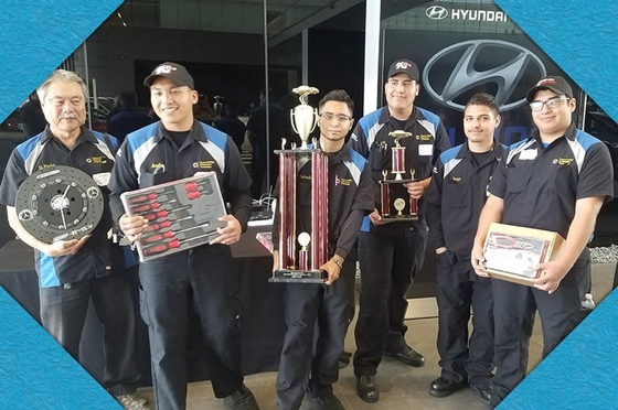 Dual Enrollment Students Win Auto Tech Competition