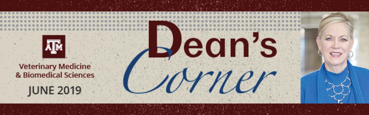Dean's Corner Banner - June 2019