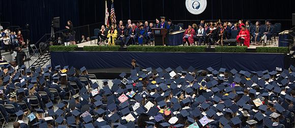 Columbian College graduates at celebration