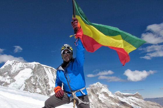 Link to blog post about Sirak Seyoum attempting to climb Mt. Everest