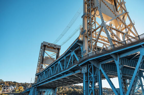 Link to blog post about the Portage Lift Bridge