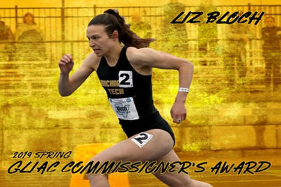 Link to the Michigan Tech Athletics story on Liz Bloch