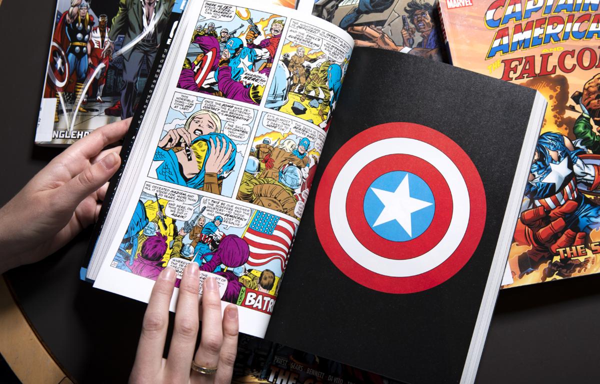 Captain America comic books