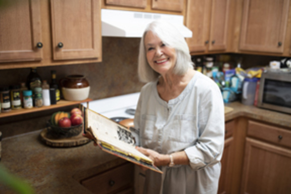 Dawn Newell, a tenant at a People Inc. Senior living community.