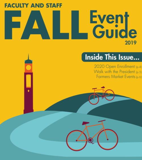 Faculty and Staff fall event guide 2019