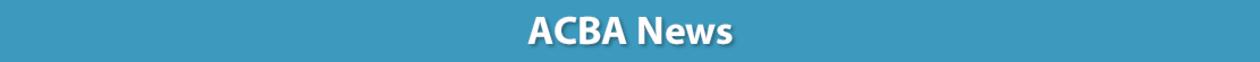 ACBA News
