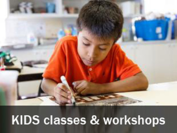 Click to see all Kids classes and workshops
