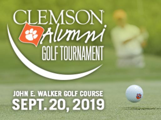 Clemson Alumni Golf Tournament. John E. Walker Golf Course. September 20, 2019