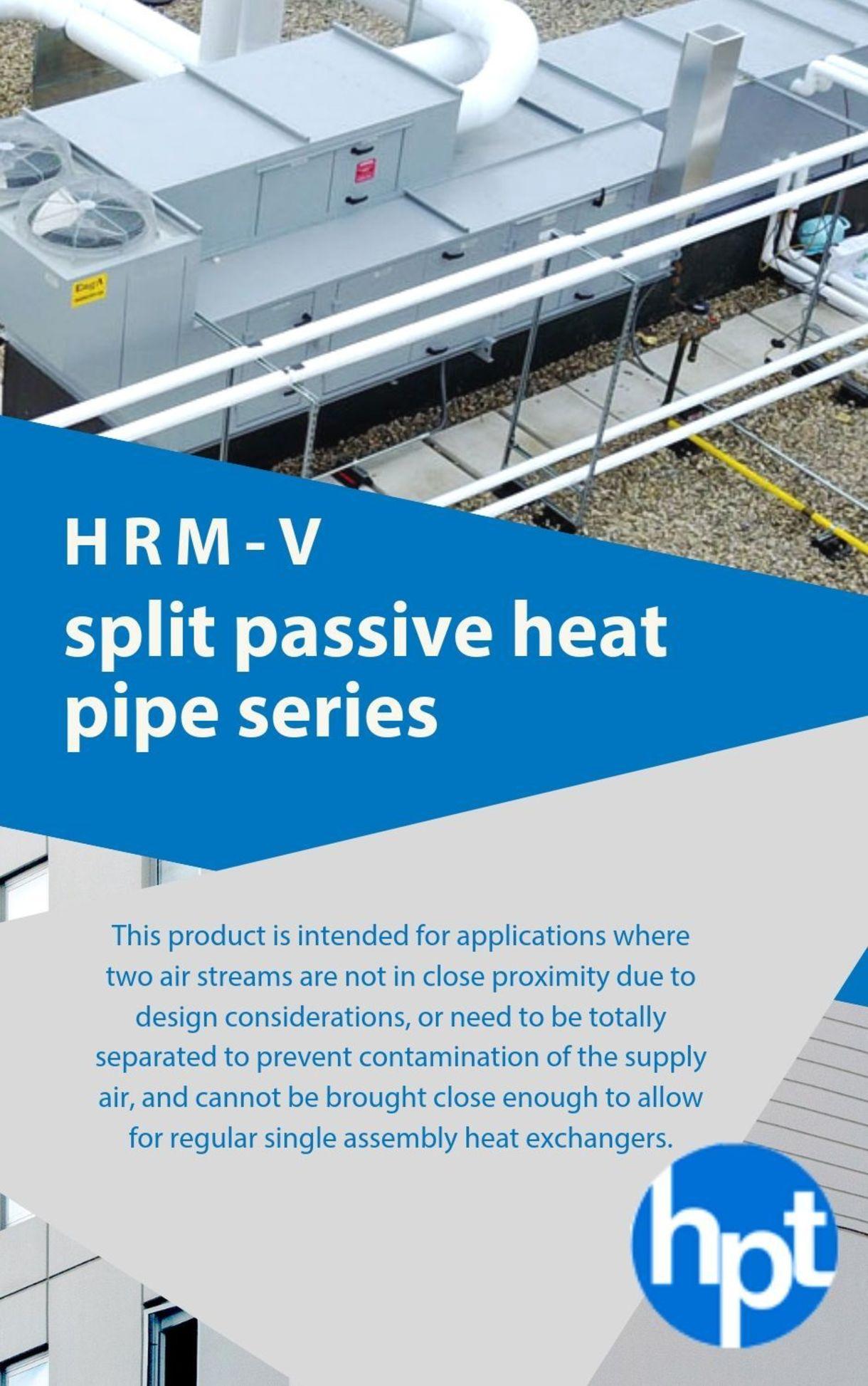 HRM-V Split Passive Heat Pipe Series
