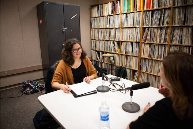 Jane Johnson, host of the Be The Change Podcast, speaking to an NPR anchor,