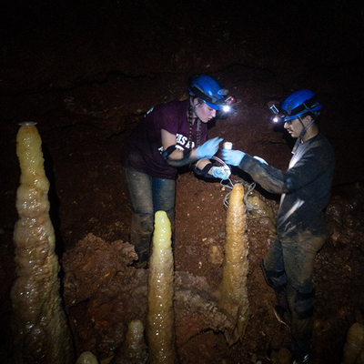 Geography Researchers Analyze The Past With Cave Stalagmites