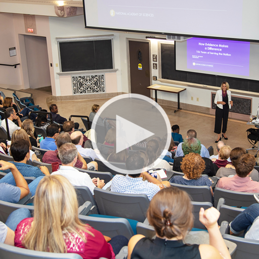 Dr. Marcia McNutt's presentation at Texas A&M, video link image