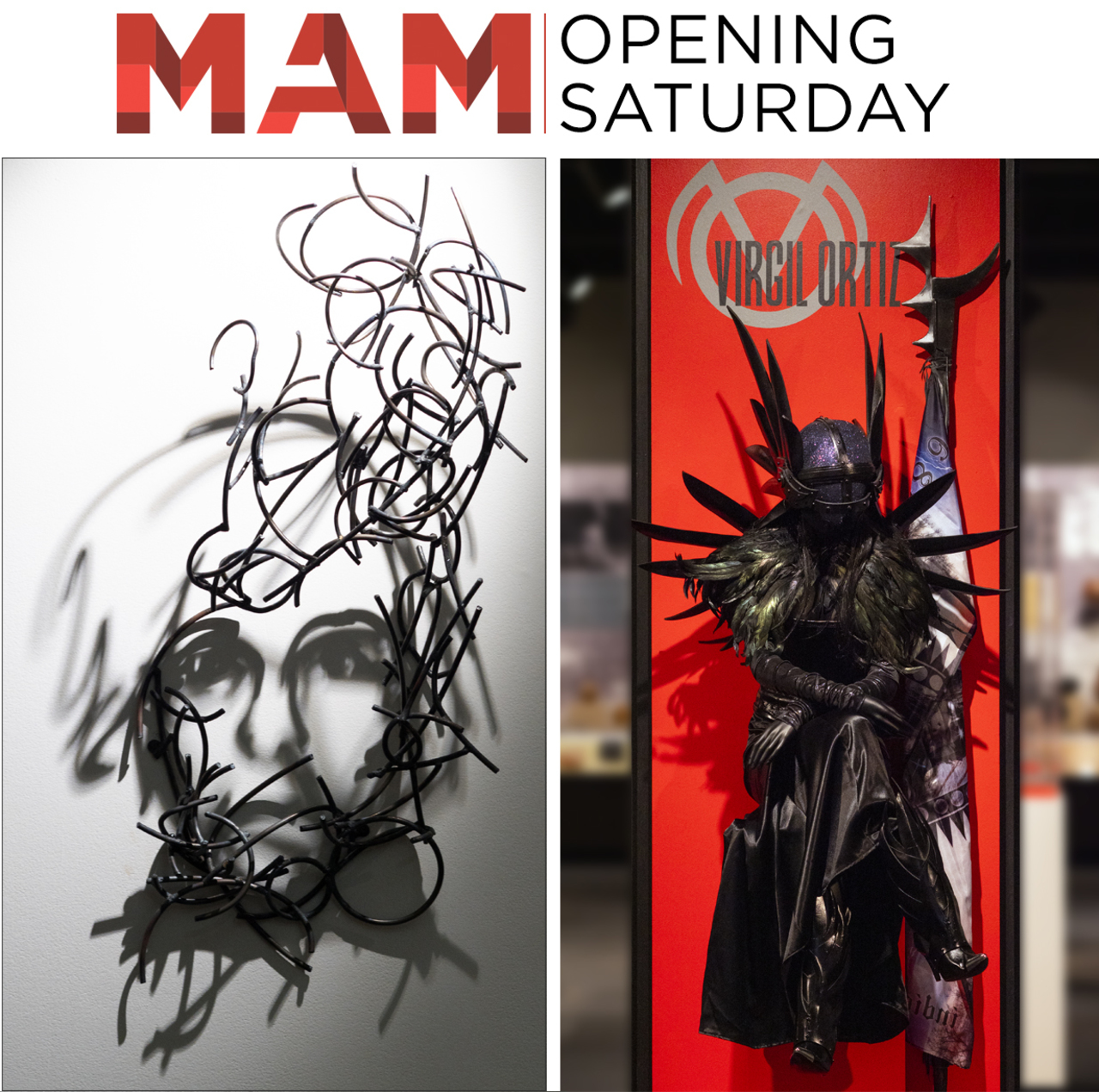 Opening this week at MAM