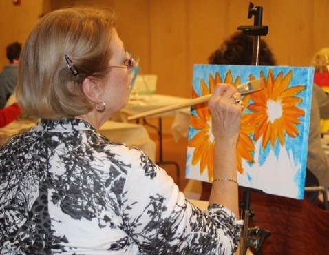 Long-time TrueNorth supporter, volunteer and champion Jelanie Bush is honored as Michigan's Senior Volunteer of the Year