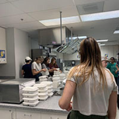 food fighters volunteers