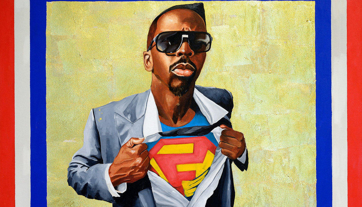 Fahamu Pecou Nunna My Heros: After Barkley Hendricks' 'Icon for My Man Superman', 1969, 2011