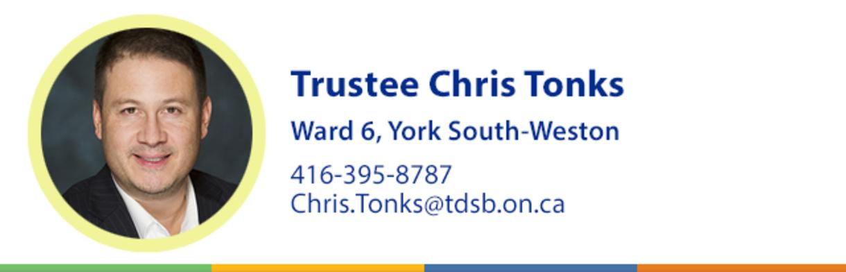 Trustee Chris Tonks Header