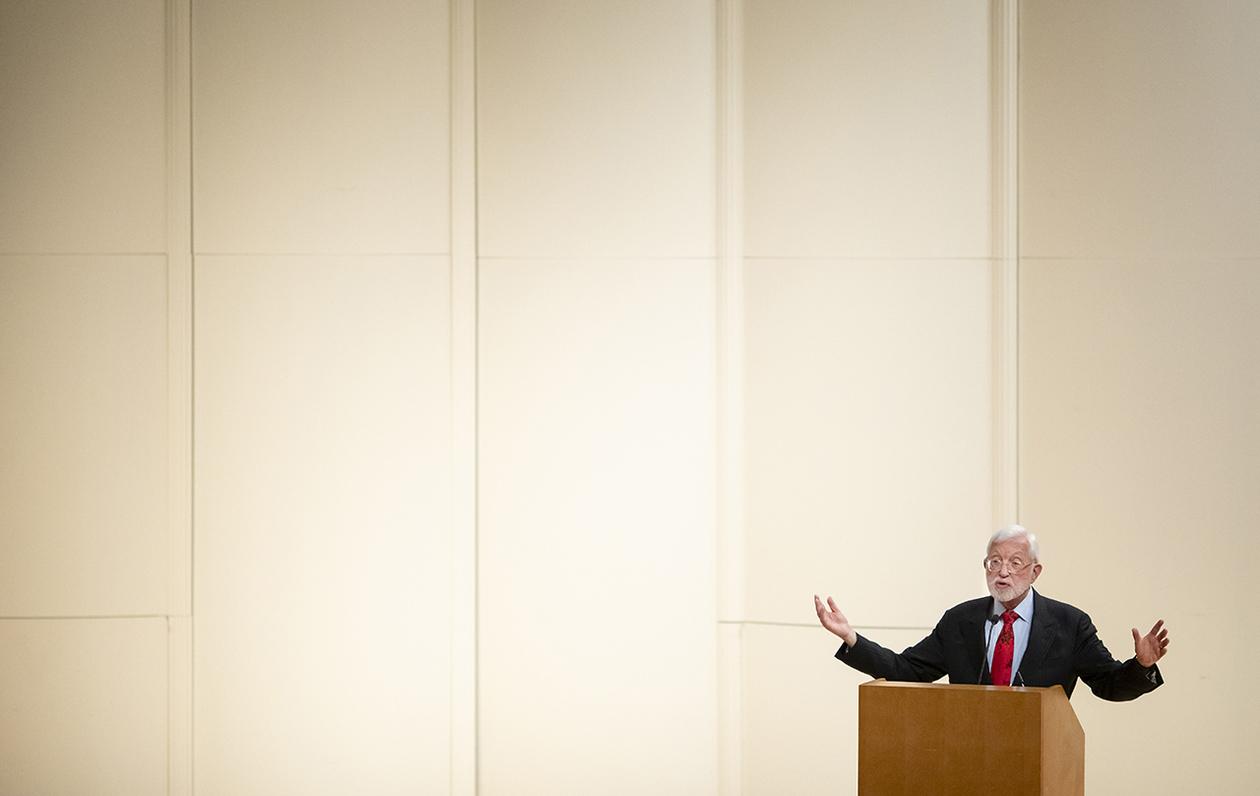 U.S. District Judge Jed Rakoff delivers the Pierce lecture