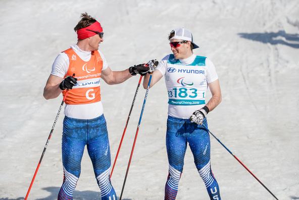 Jake Adicoff ane guide, Sawyer Kesselheim, get ready to start in PyeongChang!