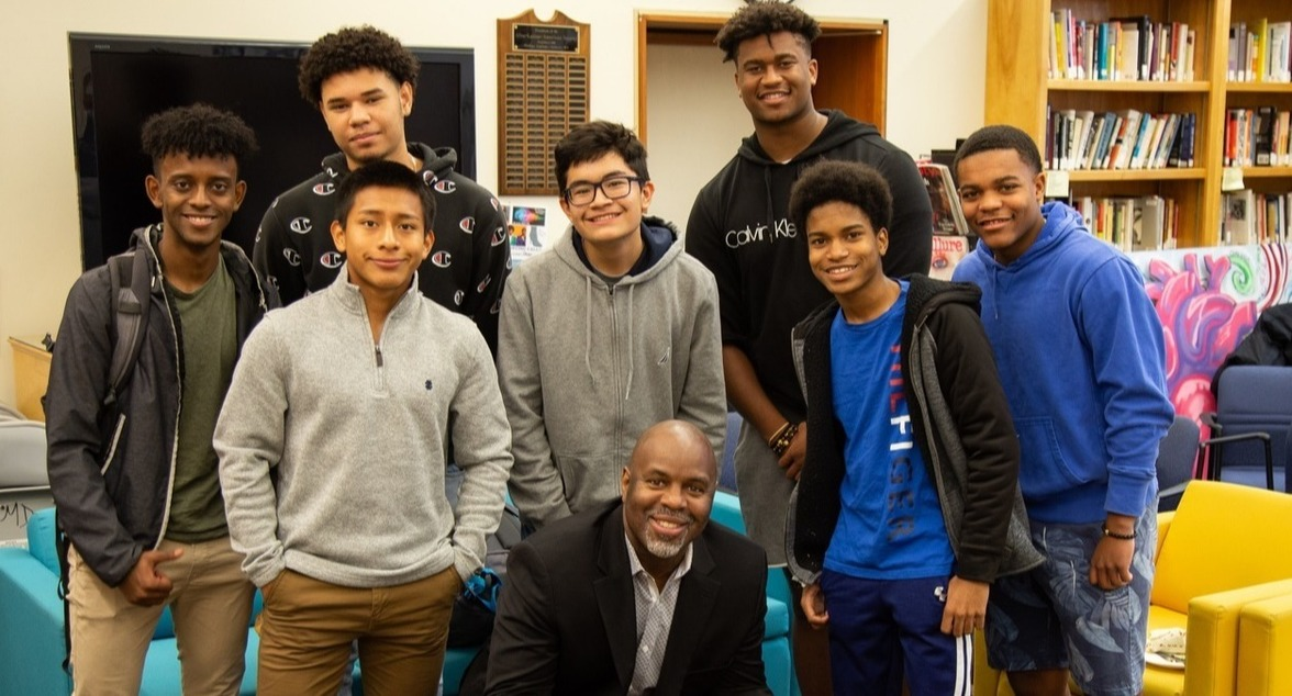 Byron Hurt and Students