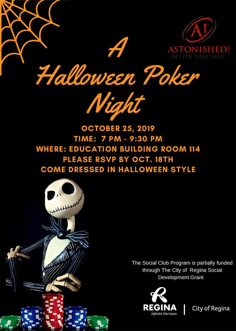 A Halloween Poker Night