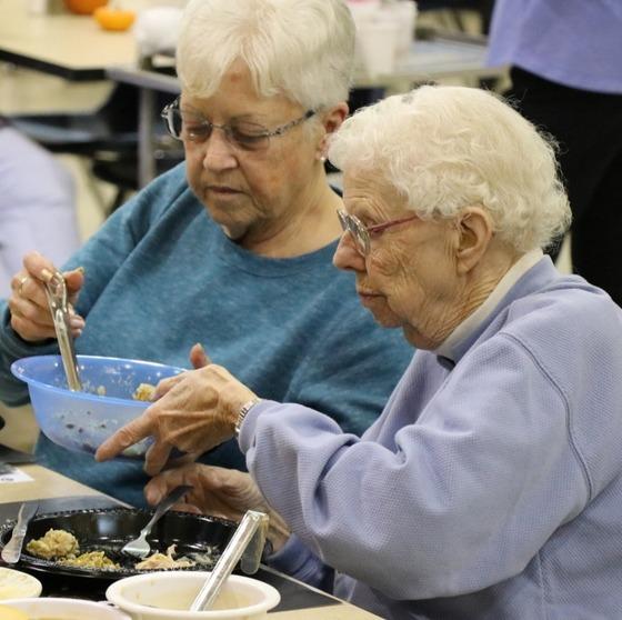 Senior Thanksgivng Luncheon(s), a TrueNorth community service