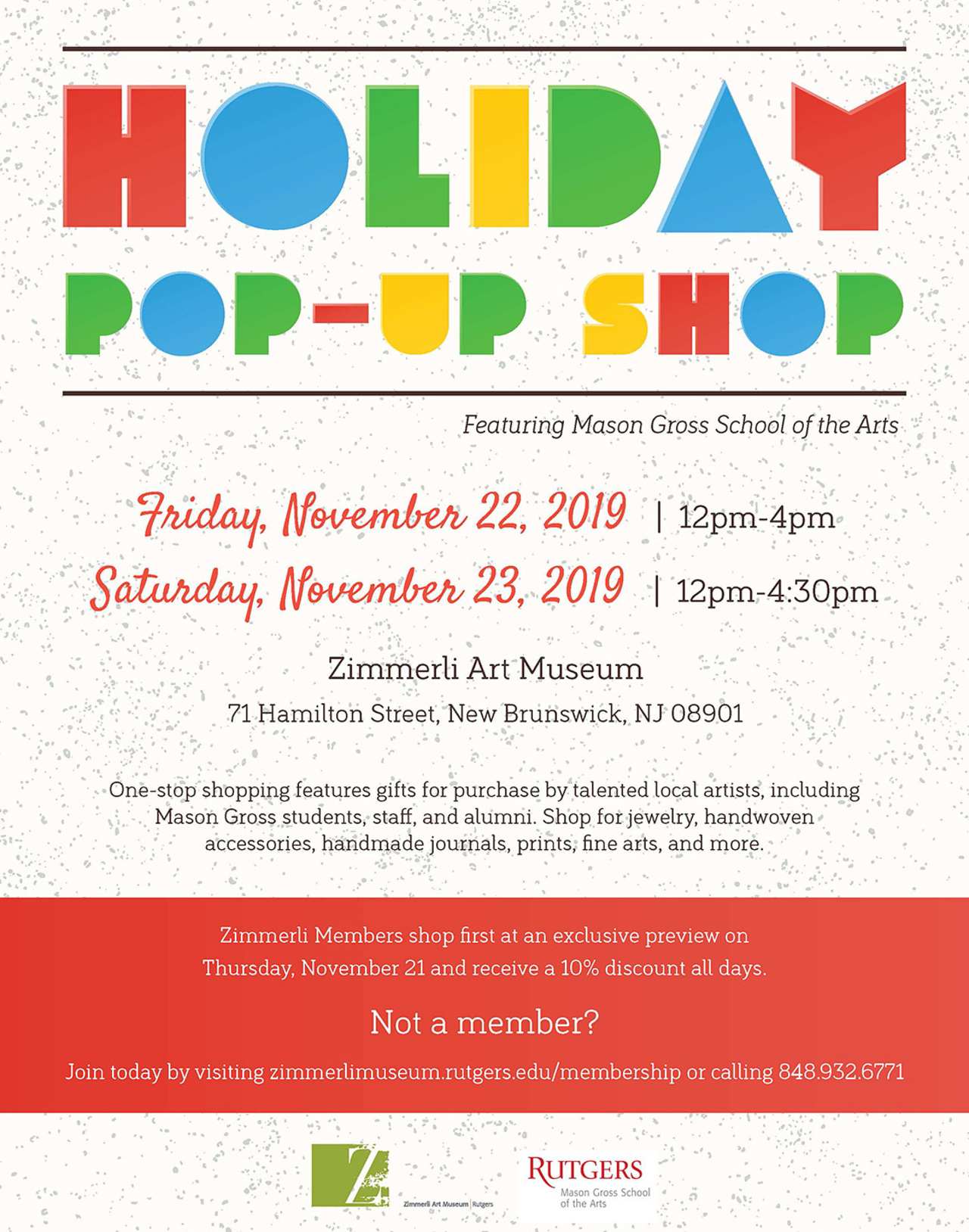 Holiday Pop-Up Shop