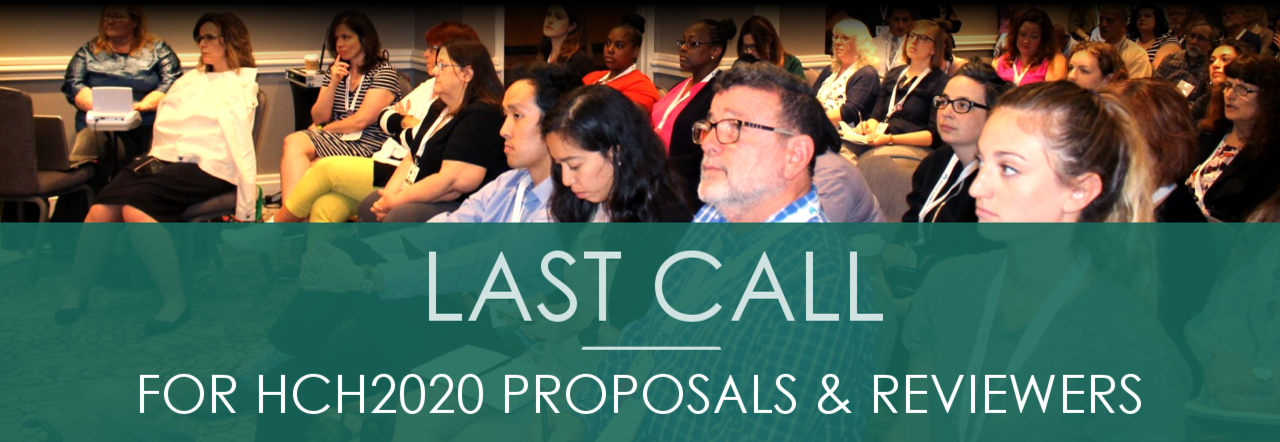 Last Call for HCH2020