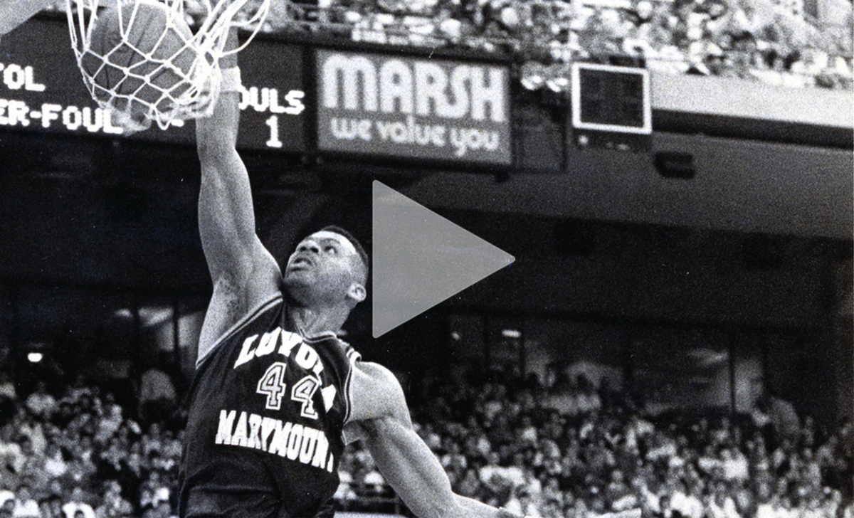 Watch our new commercial honoring Hank Gathers and the 1989-90 men's basketball team, narrated by Bob Costas