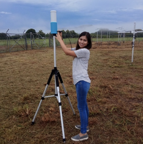 Graduate Student Conducted Tropical Convection Field Work in Costa Rica For Two Months