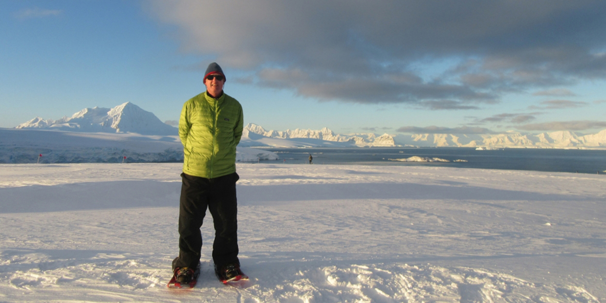 Klein Completes His 18th Antarctic Expedition