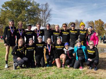 "Link to Michigan Tech Athletics' article ""Tech Men's and Women's Cross Country Teams Qualify for NCAA Championships"""