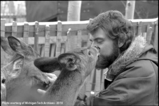"Link to the Michigan Tech Alumni News story ""Hunting Season, a Tech (U.P) Tradition"""