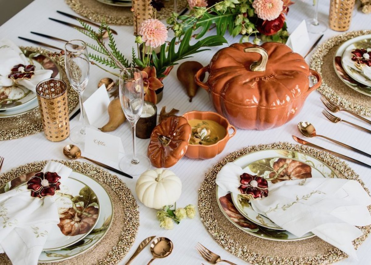 Table & Dine – Fall harvest table for Nomi K