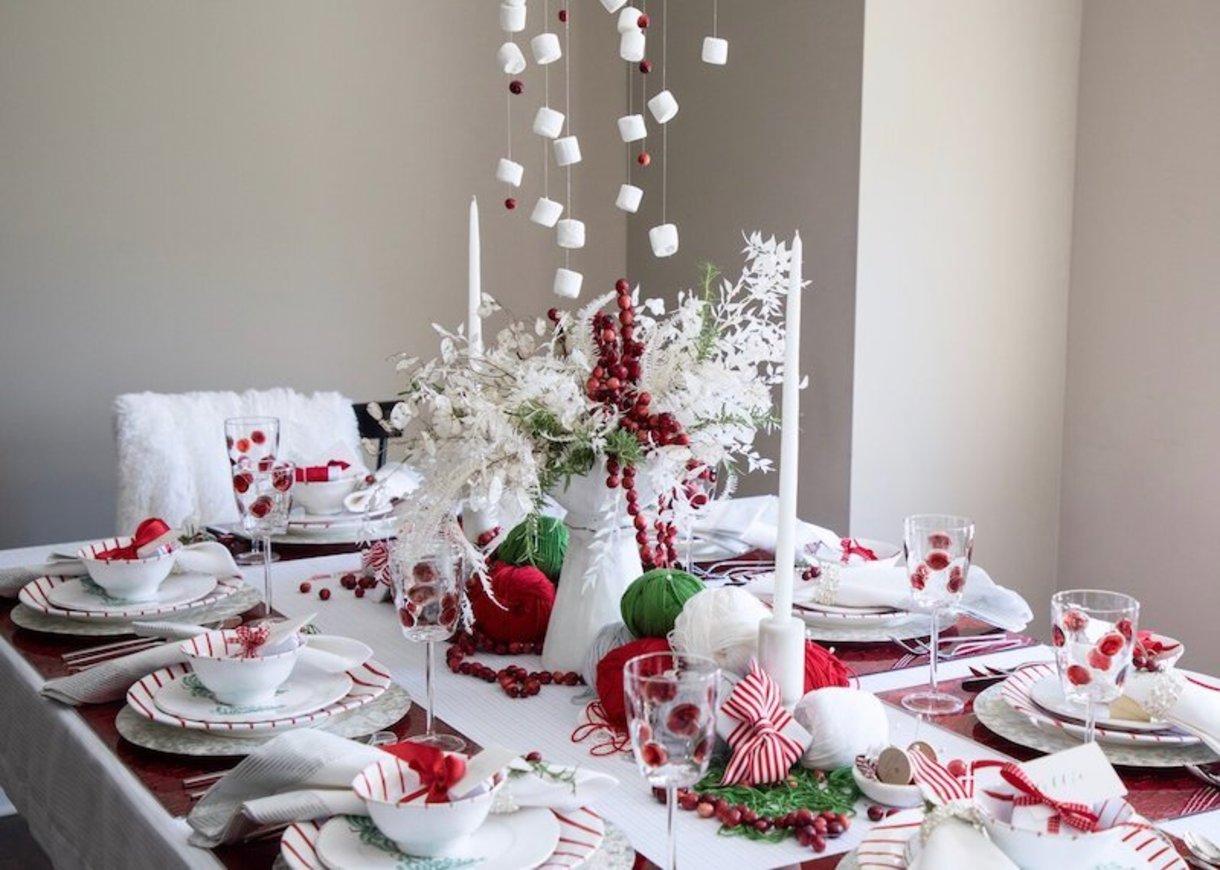Table & Dine whimsical Christmas table